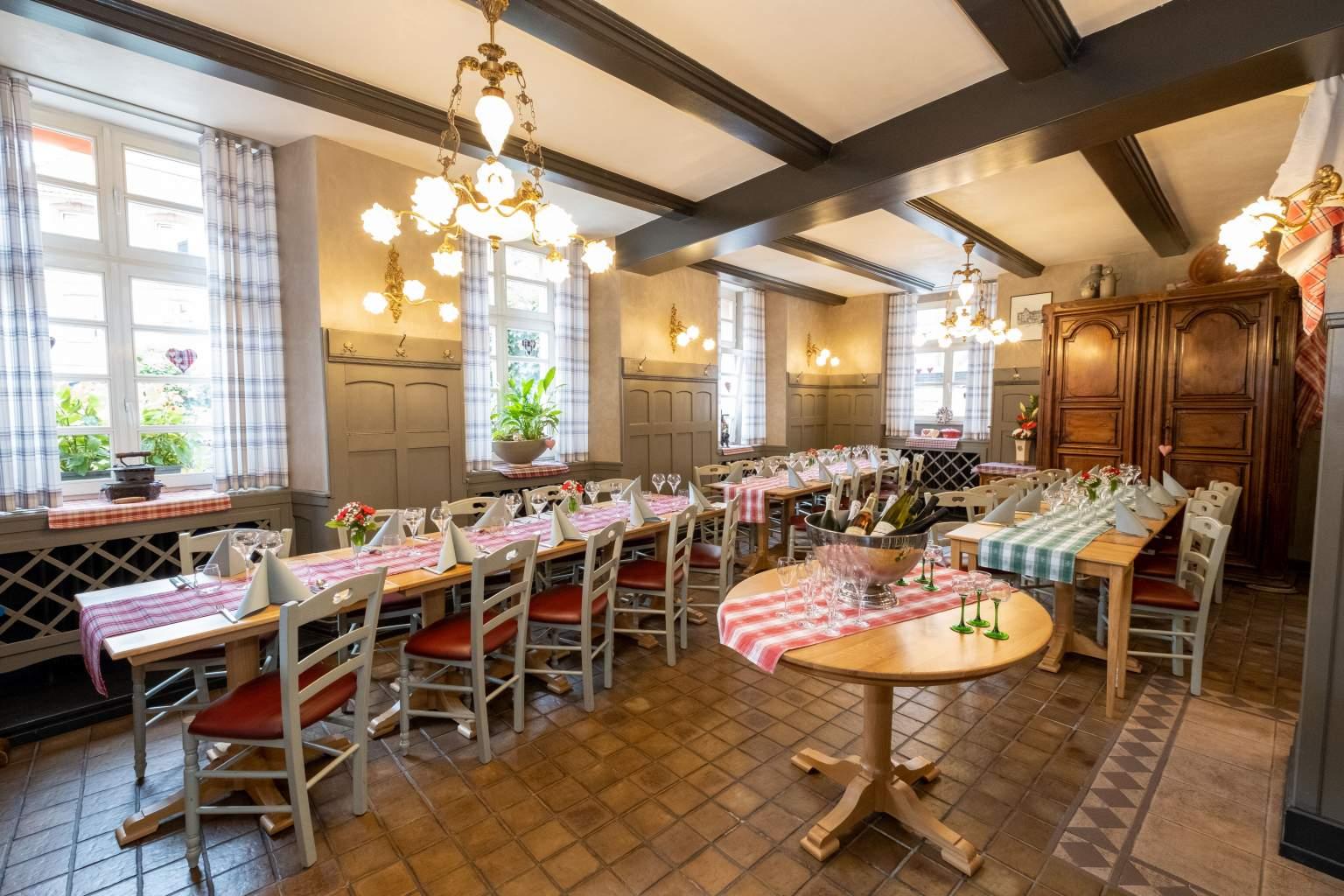 Salle pour banquet et réception à WissembourgHôtel La Couronne